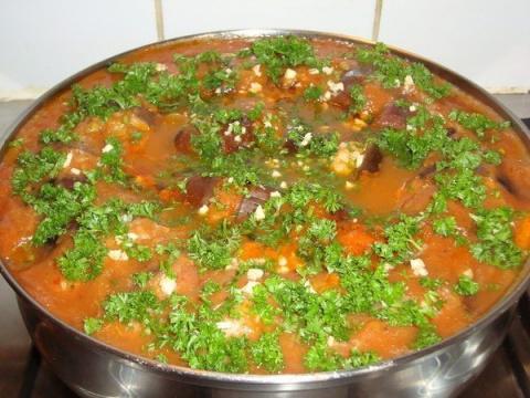 Баклажаны по-турецки! Рецепт приготовления.