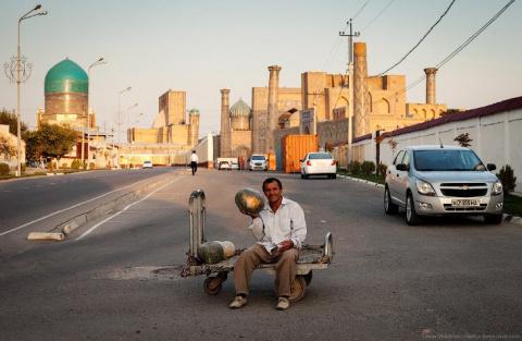 Самарканд: туристическая жем…