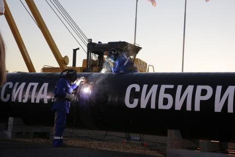 Пекин ждет российский газ