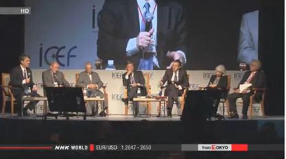 Абэ призывает страны делиться планами инноваций, чтобы уменьшить парниковый эффект