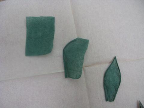 Розы из бумажных салфеток (мастер-класс)
