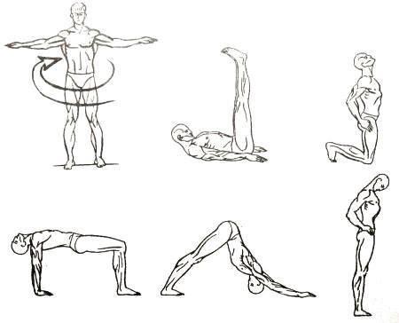 Тибетская гимнастика Око Возрождения