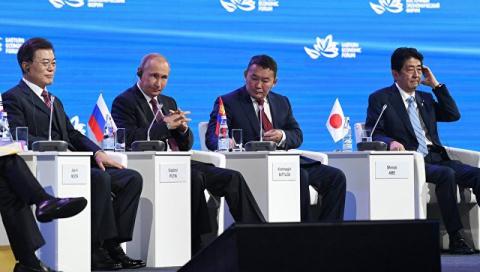 Путин показал в Азии, кто тут тигр. Японцы и корейцы поняли