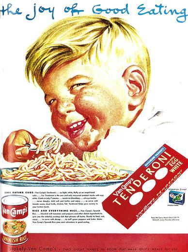 Странные дети в известной ретро-рекламе