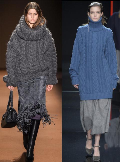 свитера осень-зима
