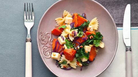 Как приготовить салат с тыкв…