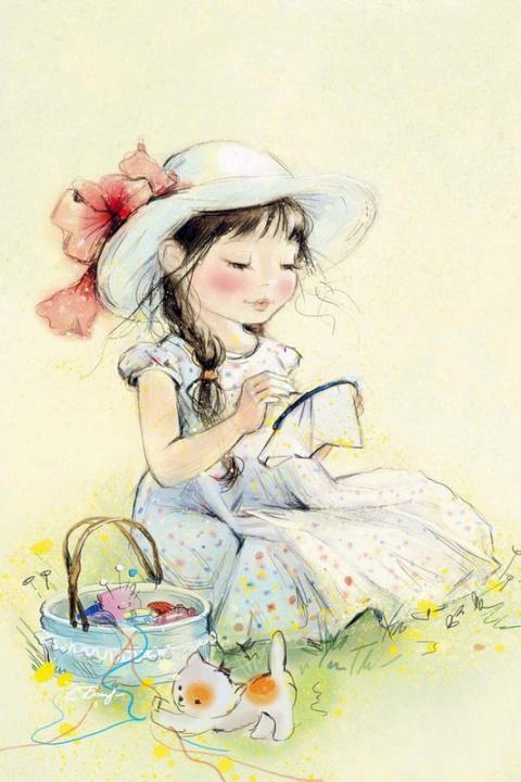 Нежный мир детства от Екатерины Бабок