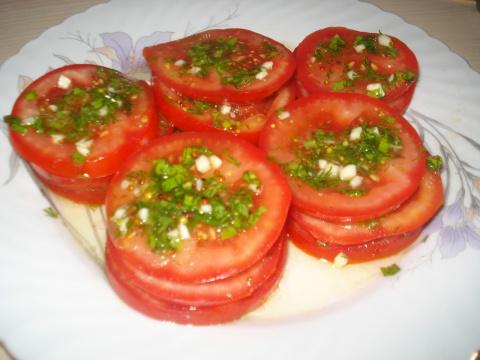 """Маринованные помидоры за полчаса (""""Курсы быстрой готовки"""")"""
