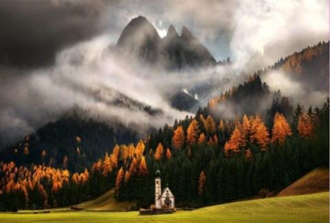 Волшебные фотографии горных …