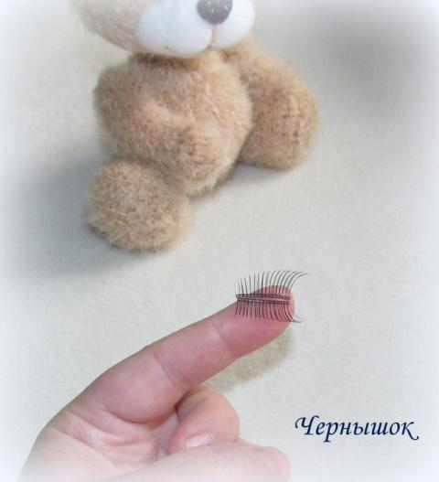 Глазки с ресничками (мини-МК)