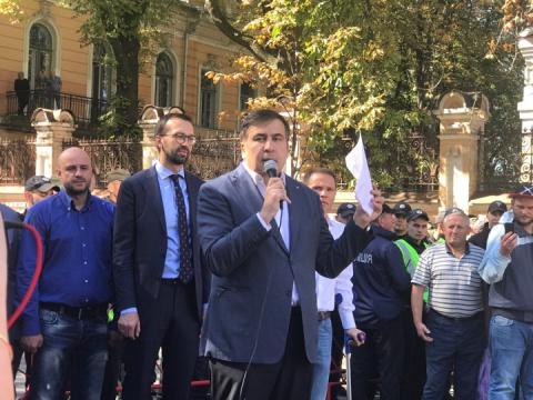 Мишико дошел до Киева: Порош…