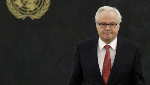 Чуркин: планы Киева ввести миротворцев противоречат минским документам