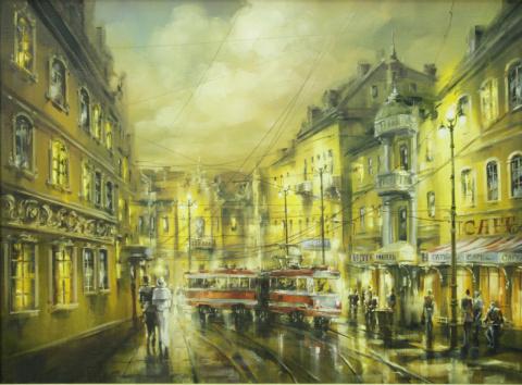 Городская романтика Игоря Кирсанова.