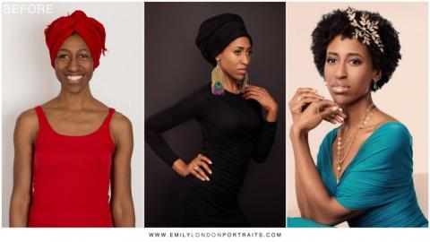 Фотодоказательства того, что наряд, причёска и правильный макияж превратят любую женщину в красавицу