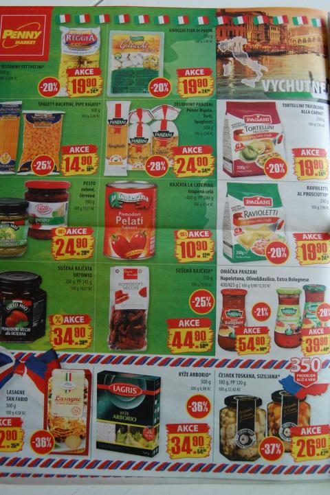 продукты в чехии цены