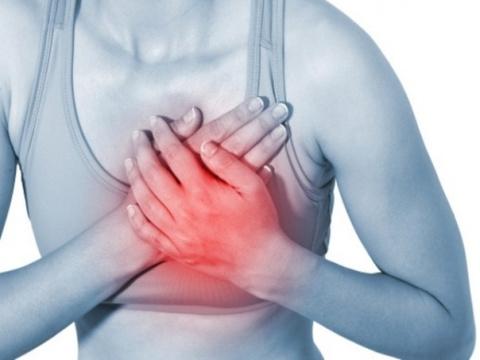 При внезапной боли в груди