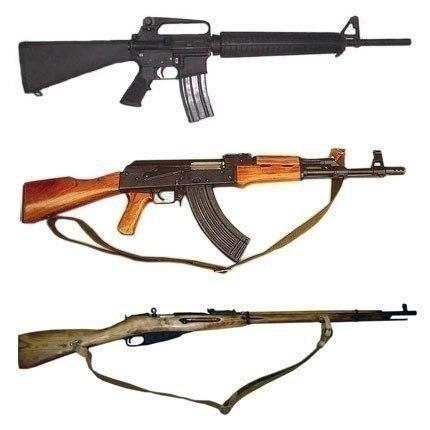 Немного об оружии