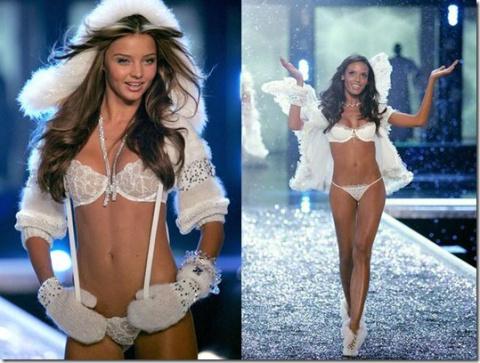 Рождественские шоу-показы Victoria's Secret