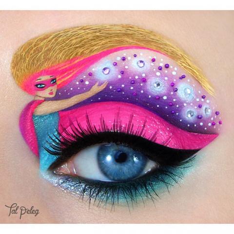 Искусство макияжа: глаза-кар…