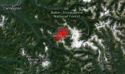 Серия землетрясений возле ву…