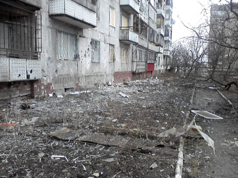 Донецк – евро-украинский людоизм