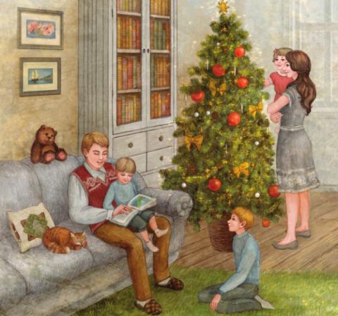 Детский мир. Чем заняться с детьми в новогодние каникулы