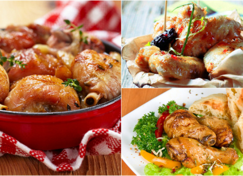 Горячие блюда: новогодние рецепты 2016 из куриных ножек