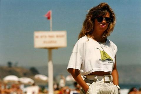 Фото пляжной жизни Чили в 80-х