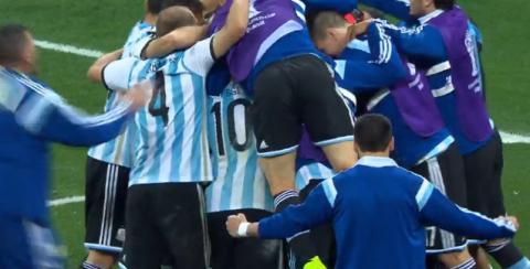 Сборная Аргентины вышла в финал ЧМ-2014, обыграв в серии пенальти Голландию