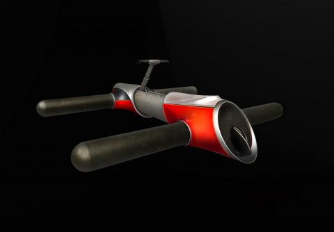 Многоместный гидроцикл для спасателя