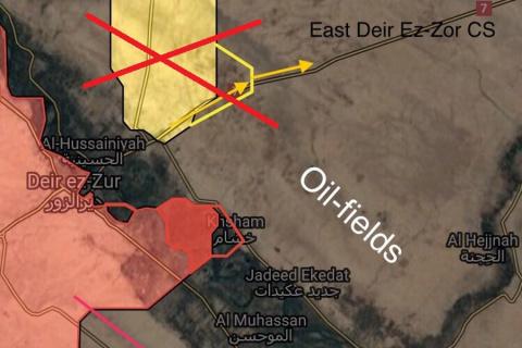 Никакого «раздела Сирии по Е…