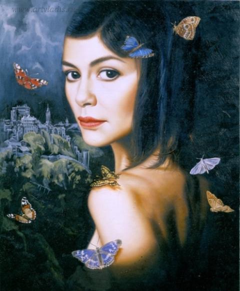 Воспоминания бабочек об Эль Греко или Личная история Одри Тоту