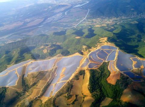 Солнечная ферма Ле-Ме   Мир …