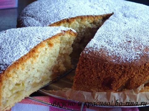 Десертный вихрь. Пироги с яблоками. Яблочный пирог-кекс