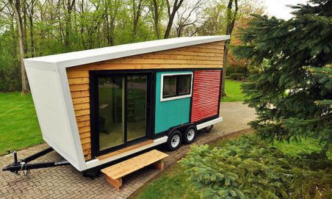 Крошечный и уютный дом-мечта на колесах