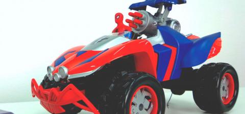 Человек- паук видео с игрушками. Машинки и Автовоз. Автомобиль супергероя.