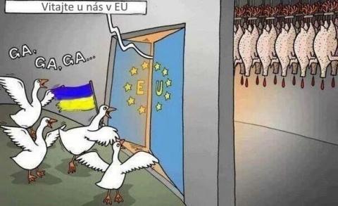Новые долги «маячат» перед Киевом на входе в Евросоюз
