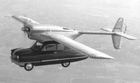 10 летающих автомобилей, существовавших в реальности