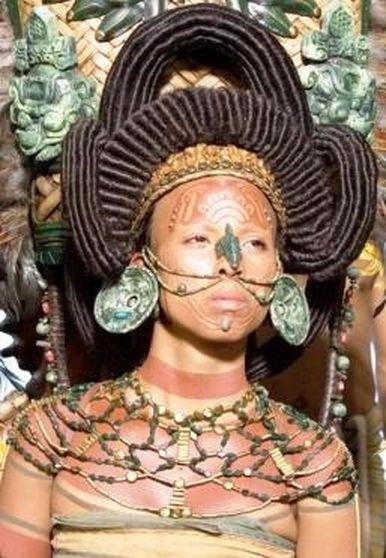 Секс племён майя