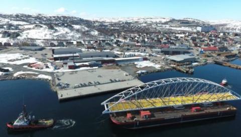 Норвегия достраивает мост с …