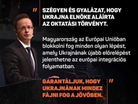 Венгерская блокада Украины, начало