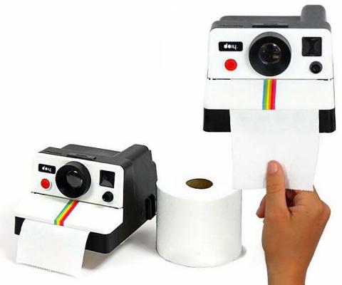 7 забавных контейнеров для туалетной бумаги и салфеток