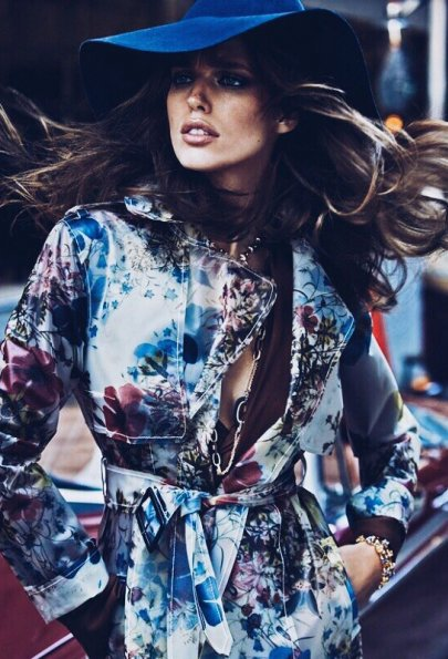 В ритме города:  Эмили ДиДонато для январского Vogue Mexico