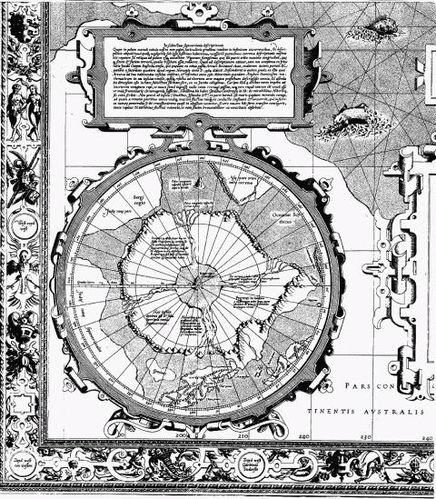 Все ответы на все вопросы истории на одной карте Меркатора 1569 года.