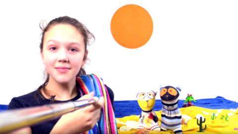 Кисочки Мур и Мяу отдыхают на море. Лучшая подружка Варя научит их делать селфи!
