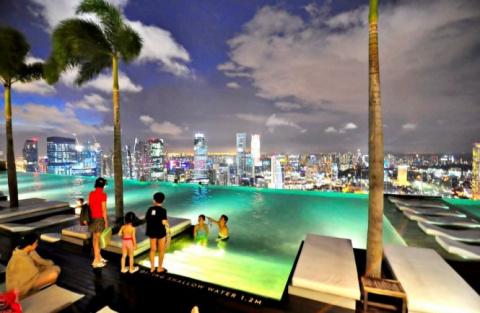 Самый высокий бассейн в мире…