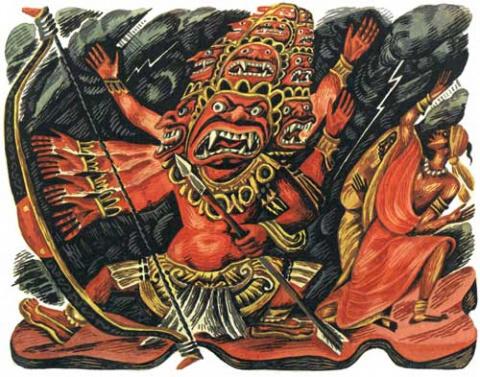 Четыре демона и основной принцип их отсечения.