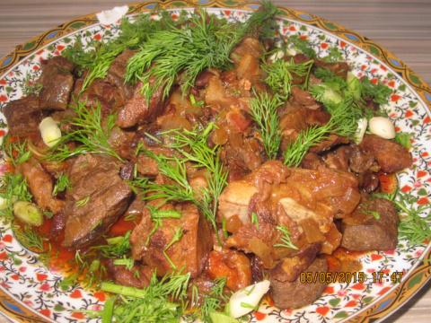 Каммуния - арабское блюдо Тунис