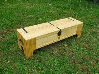 Ящик превращается... в кровать