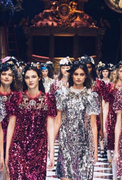 Сказочные мотивы: Dolce & Gabbana осень-зима 2016